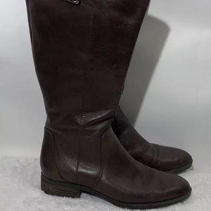 Sam Edelman Brown Leather Riding Boots  PATTON 7M